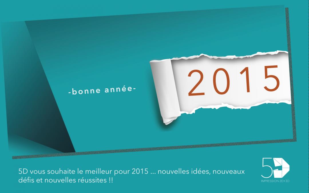 très bonne année 2015