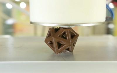 Imprimer du chocolat en 3D !
